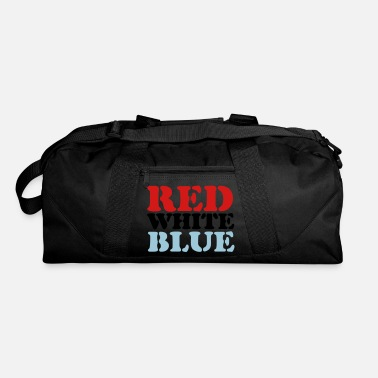 Red White And Blue Red White Blue - Duffle Bag