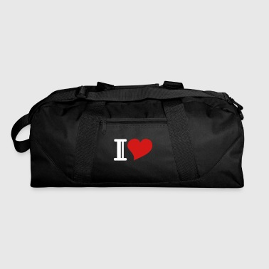 i heart - Duffel Bag