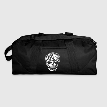 A broken skull - Duffel Bag
