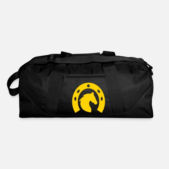 Horseshoe Bags & Backpacks - Horseshoe - Duffle Bag black