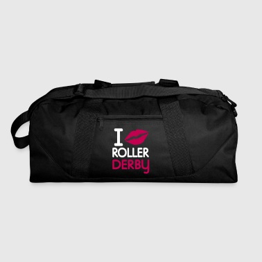 derby i kiss roller derby - Duffel Bag