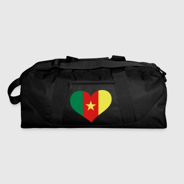 Cameroon Heart; Love Cameroon - Duffel Bag