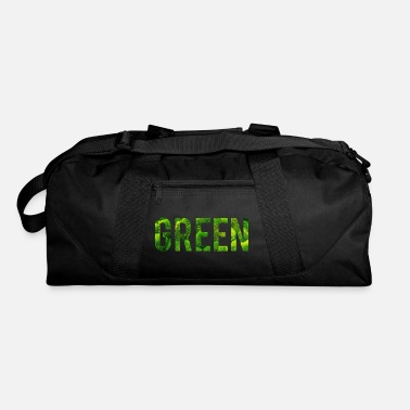 Green And Gold Green - Duffle Bag