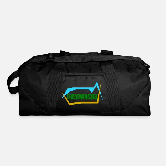 Usa Bags & Backpacks - Dallas - United States Of America - Duffle Bag black
