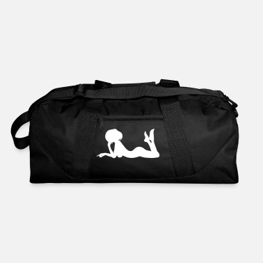 Lady Laying Down - Duffle Bag