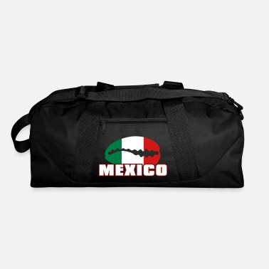 Bandera Mexican flag in cauri - Duffle Bag