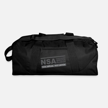 Nsa NSA Customer Service Pledge - Duffel Bag