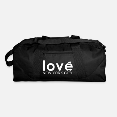 love NEW YORK CITY - Big Apple - Duffel Bag