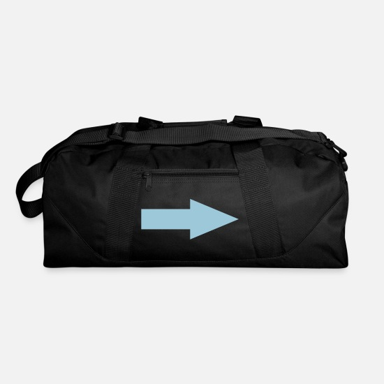 Blue Bags & Backpacks - arrow - Duffle Bag black