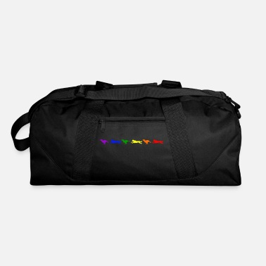 Motion Malinois in Motion- Rainbow - Duffel Bag
