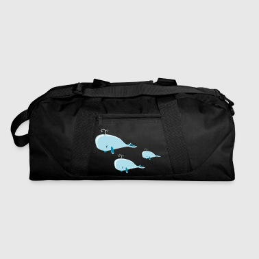 Group whale group - Duffel Bag