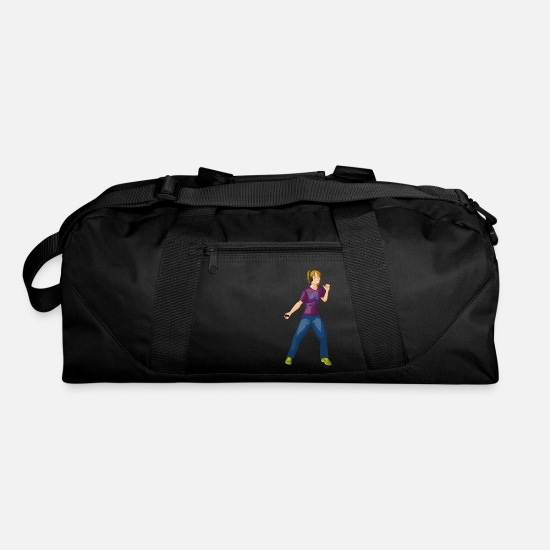 Guys Night Out Bags & Backpacks - guy - Duffle Bag black