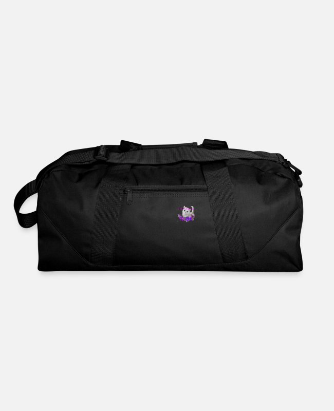 Pattern Bags & Backpacks - Logo106 - Duffle Bag black