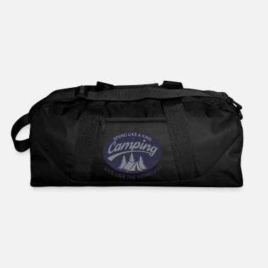 Irony Irony of Camping - Duffel Bag
