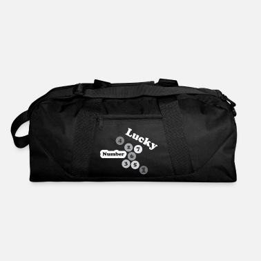 Number Number abstract - Duffel Bag