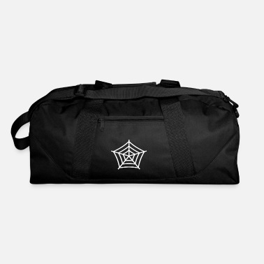 Web spider web - Duffel Bag