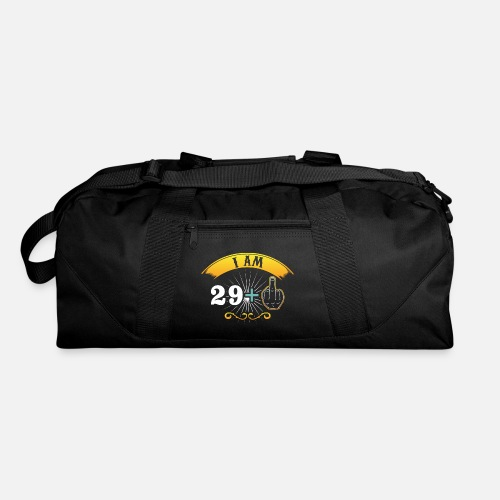 I Am 29 Cooler 30th Birthday Gift Duffle Bag