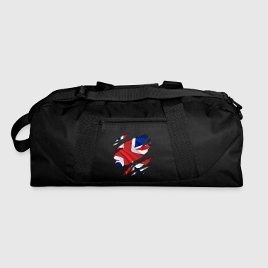 The Union Jack under the shirt! - Duffel Bag