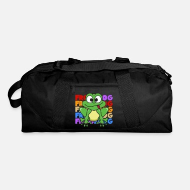 Kermit Vintage Retro Pop Art Style Frog Toad Animals - Duffle Bag