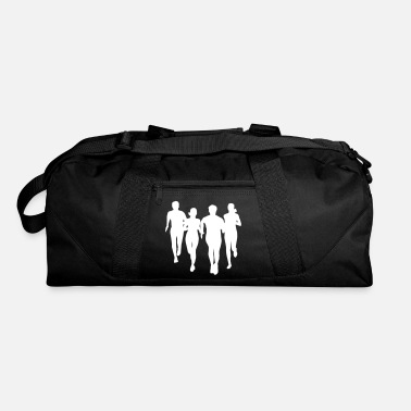 Running run, running - people running - Duffle Bag