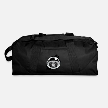 Black And White Collection Space monkey Black and white Art - Duffle Bag