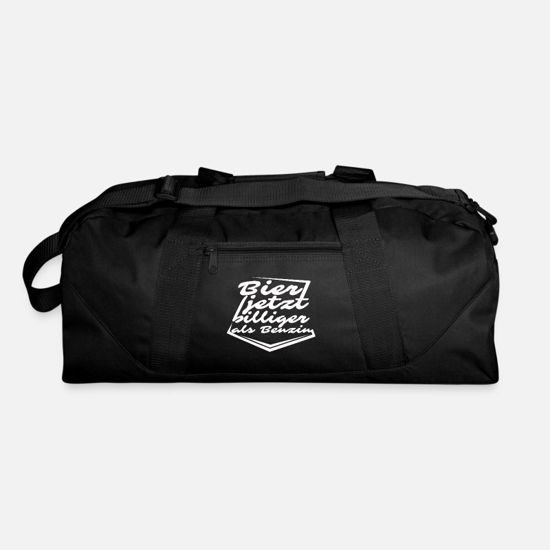 Funny Beer Quote Duffle Bag Spreadshirt