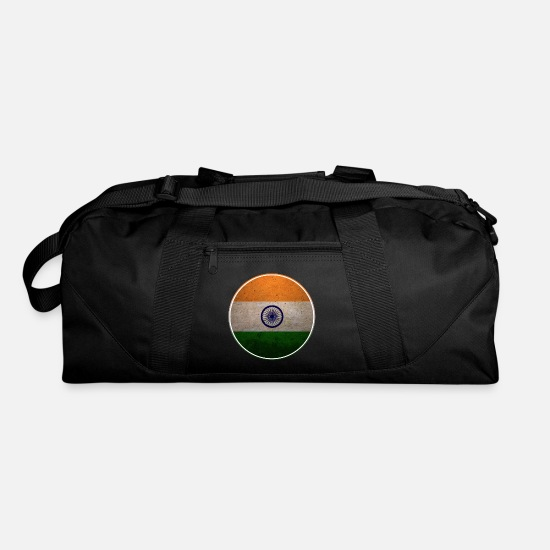 Gift Idea Bags & Backpacks - Country India Proud Homeland Patriot National Gift - Duffle Bag black
