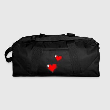Pixel-heart Pixel Hearts - Duffel Bag