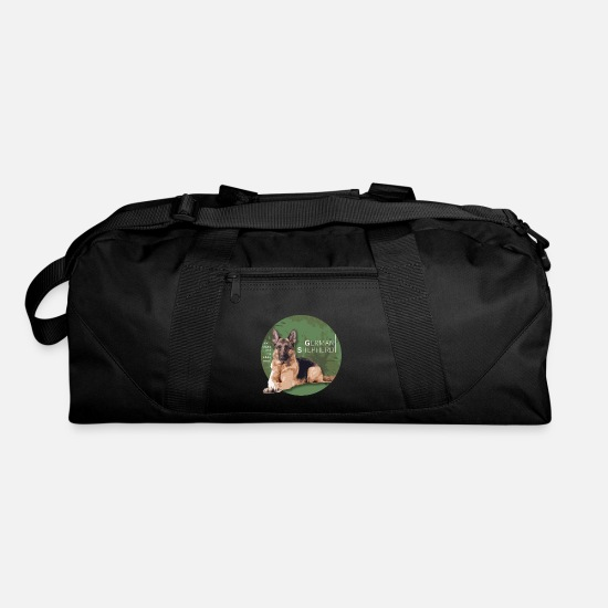 German Shepherd Bags & Backpacks - German Shepherd. Super breed. - Duffle Bag black