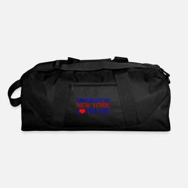 Ny SOMEBODY IN NEW YORK LOVES ME - Duffel Bag