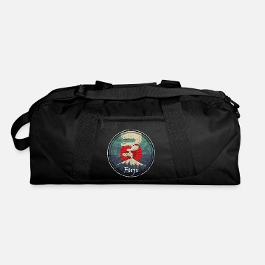 Writing Fuji Volcano Symbol Japanese Chinese Kanji - Duffel Bag
