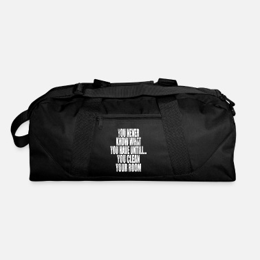 Clean What It Is You never know what you have until you clean - Duffle Bag
