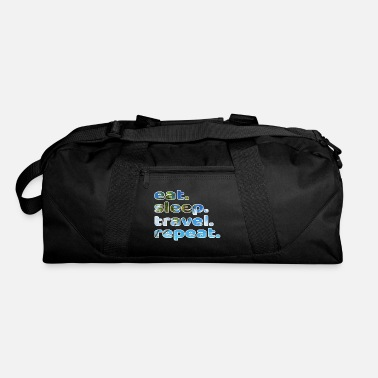 Cruise Eat Sleep Travel Repeat A Nice Traveling Design - Duffle Bag