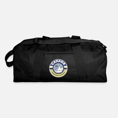 Cool canada mountains outdoor gift - Duffle Bag