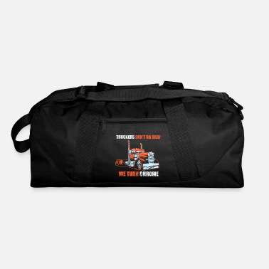 Transport Truck Shirt - Transport - We turn chrome - Duffle Bag
