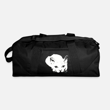 Tiger Eyes Sneaky Design by Chapy - Duffle Bag