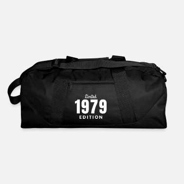 Date Of Birth Born 1979 year of birth gift present birthday date - Duffle Bag
