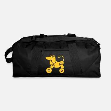 Wheel wheel dog - Duffle Bag
