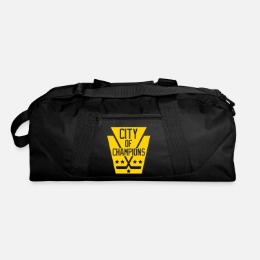 City Of Champions City of Champions - Black - Duffle Bag