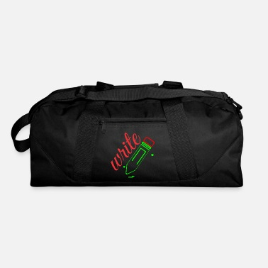Writing write - Duffel Bag