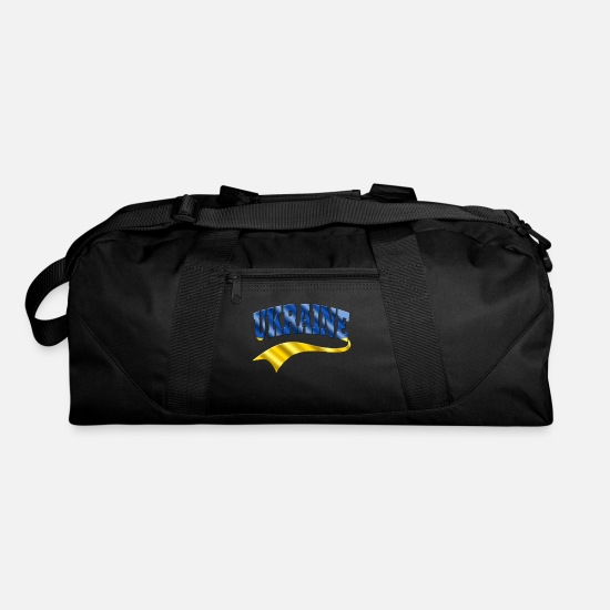 Gift Idea Bags & Backpacks - Ukraine - Duffle Bag black