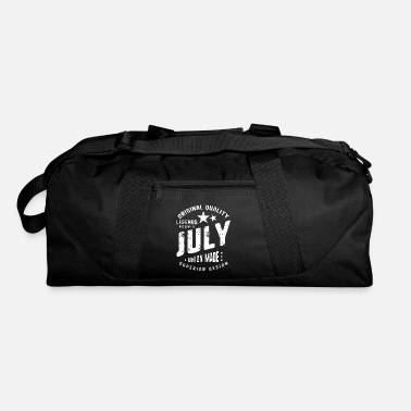 Geschenkidee July legends are born vintage t shirt typography - Duffle Bag