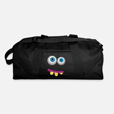 Crook Funny Eyes - Crooked Teeth - Vision Sight Humor - Duffel Bag