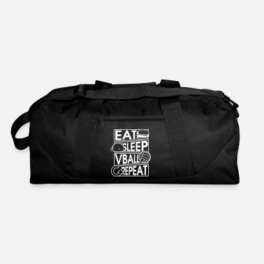 Caterpillar Eat Sleep Vball Repeat Volleyball Geschenk - Duffel Bag