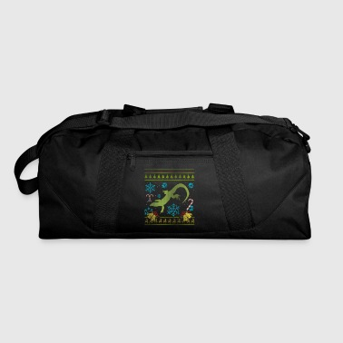 Pet Salamander Pet Newt Fire Belly Newt Christmas Ugly - Duffel Bag