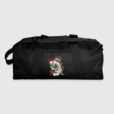 Ace of Spades Texas Holdem Poker Playing Card tee - Duffel Bag
