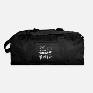 Witchcraft Full Moons Witchcraft and Black Cats - Duffel Bag