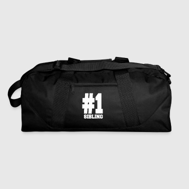 Number 1 Sibling Shirts | Stylish For Siblings - Duffel Bag