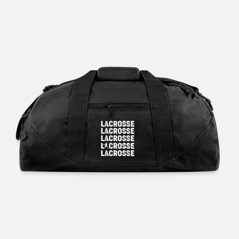 Your Bags Backpacks Lacrosse Duffle Bag Black