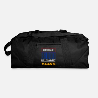 Armenia Armenians Blood Runs Through my veins - Duffel Bag